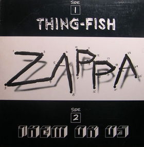 FRANK ZAPPA - Them or Us / Thing-Fish cover