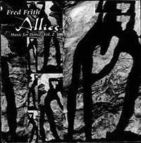 FRED FRITH - Allies cover