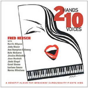 FRED HERSCH - 2 Hands 10 Voices cover