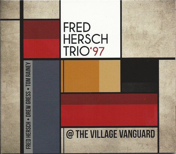 FRED HERSCH - Fred Hersch Trio '97 @ The Village Vanguard cover