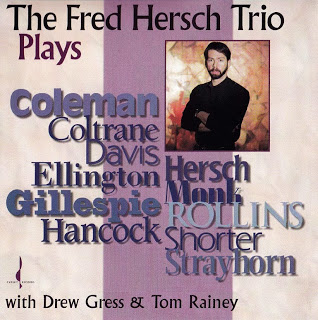 FRED HERSCH - The Fred Hersch Trio Plays... cover