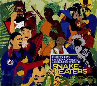 FRED HO (HOUN) - Snake-Eaters cover