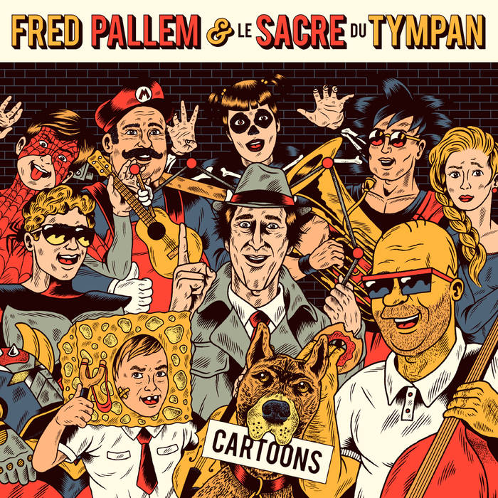 FRED PALLEM - CARTOONS cover