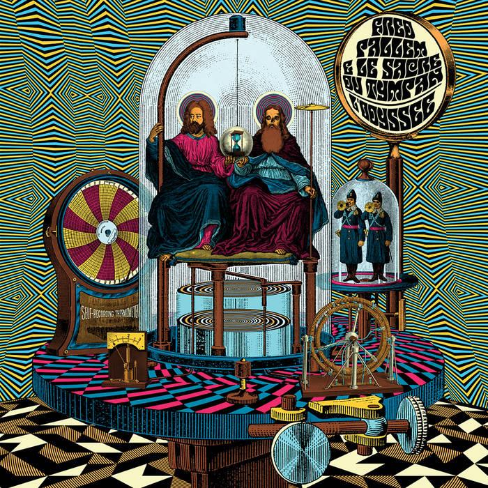 FRED PALLEM - Fred Pallem & Le Sacre Du Tympan : Lodyssée cover