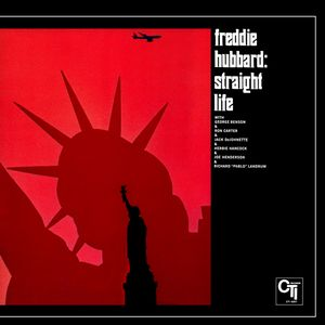 FREDDIE HUBBARD - Straight Life cover
