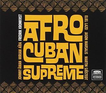 FREDRIK KRONKVIST - Afro-Cuban Supreme cover