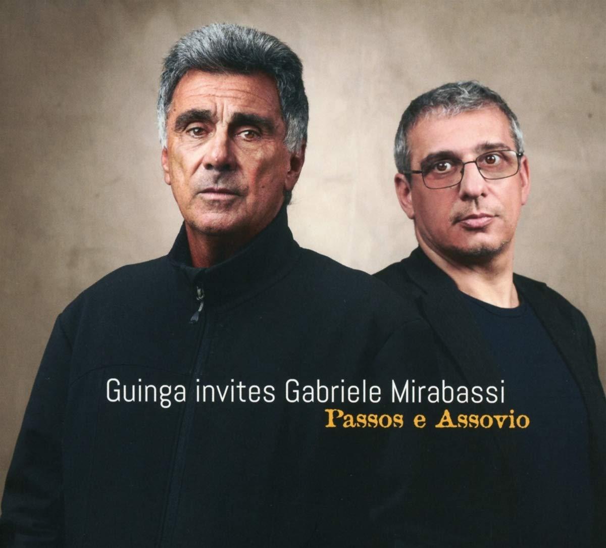 GABRIELE MIRABASSI - Guinga Invites Gabriele Mirabassi - Passos E Assovio cover