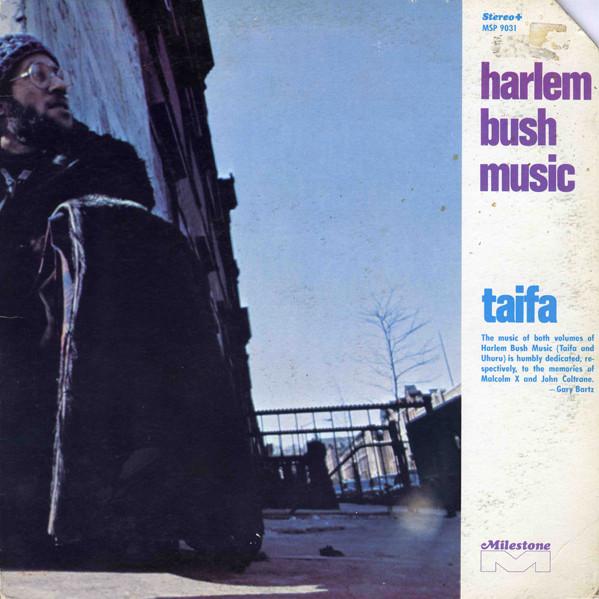 GARY BARTZ - Harlem Bush Music - Taifa cover