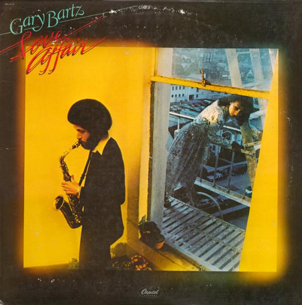 GARY BARTZ - Love Affair cover