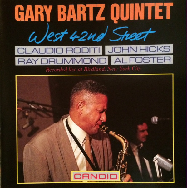 GARY BARTZ - West 42nd Street cover