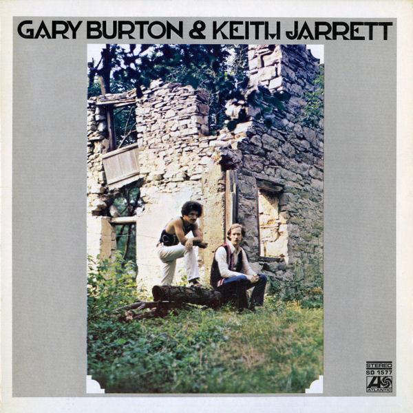 GARY BURTON - Gary Burton & Keith Jarrett cover