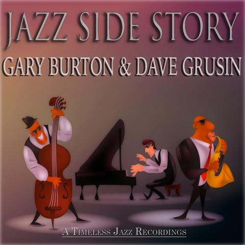 GARY BURTON - Gary Burton  Dave Grusin : Jazz Side Story cover