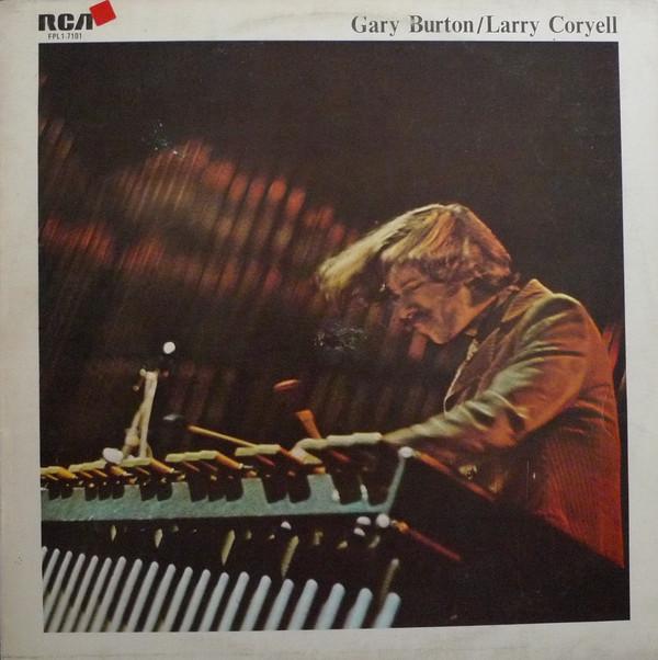 GARY BURTON - Gary Burton/Larry Coryell : The Best Of Gary Burton cover