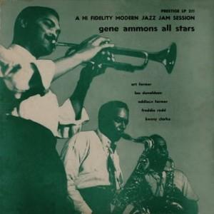 GENE AMMONS - A Hi Fidelity Modern Jazz Jam Session cover