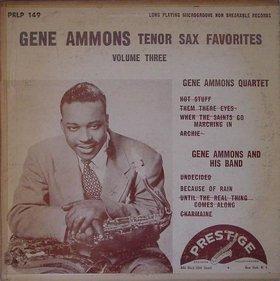 GENE AMMONS - Gene Ammons Favorites, Volume 3 cover