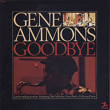 GENE AMMONS - Goodbye cover