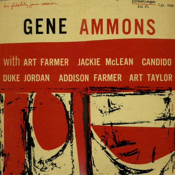 GENE AMMONS - Hi Fidelity Jam Session (aka The Happy Blues) cover