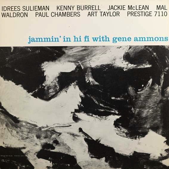 GENE AMMONS - Jammin' in Hi Fi With Gene Ammons (aka The Twister) cover