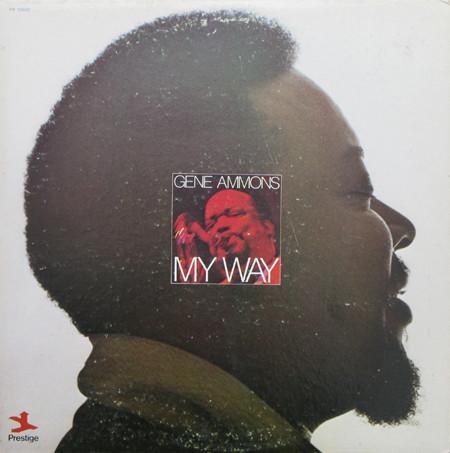 GENE AMMONS - My Way cover