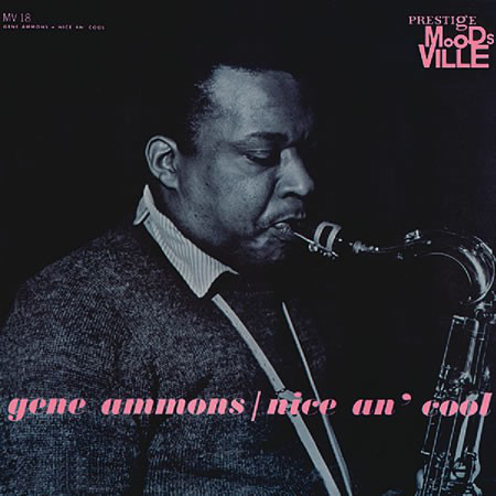 GENE AMMONS - Nice an' Cool cover
