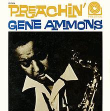 GENE AMMONS - Preachin' cover