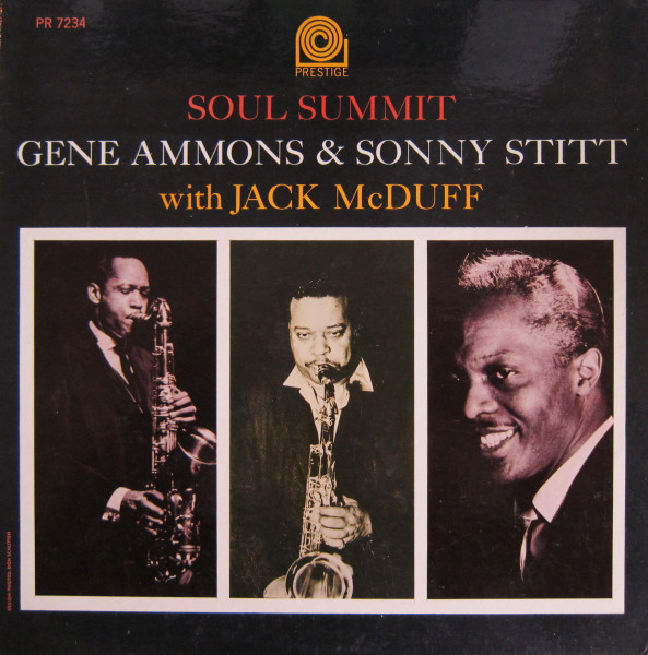 GENE AMMONS - Soul Summit cover
