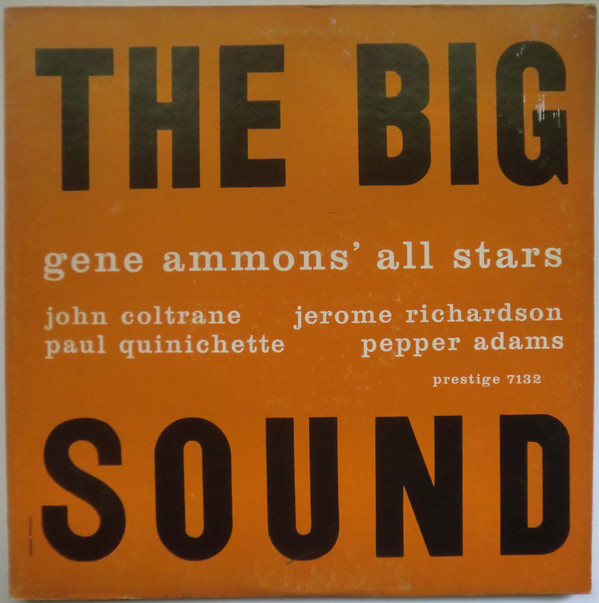 GENE AMMONS - The Big Sound cover
