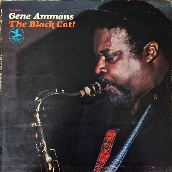 GENE AMMONS - The Black Cat! cover