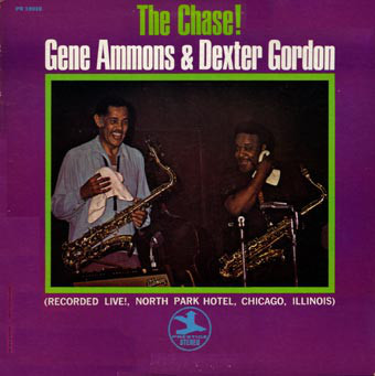 GENE AMMONS - The Chase! (with Dexter Gordon) cover