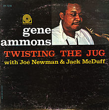 GENE AMMONS - Twisting The Jug cover