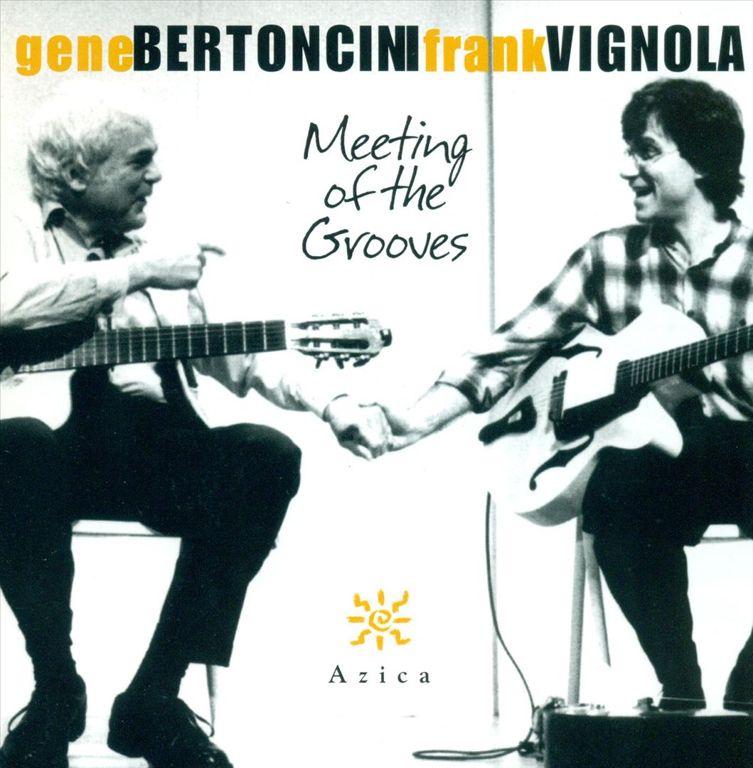 GENE BERTONCINI - Meeting of the Grooves cover