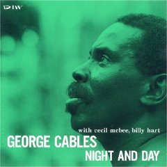 GEORGE CABLES - Night and Day cover