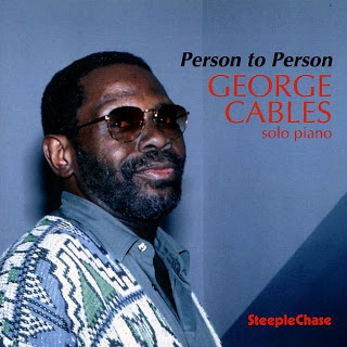 GEORGE CABLES - Person to Person cover