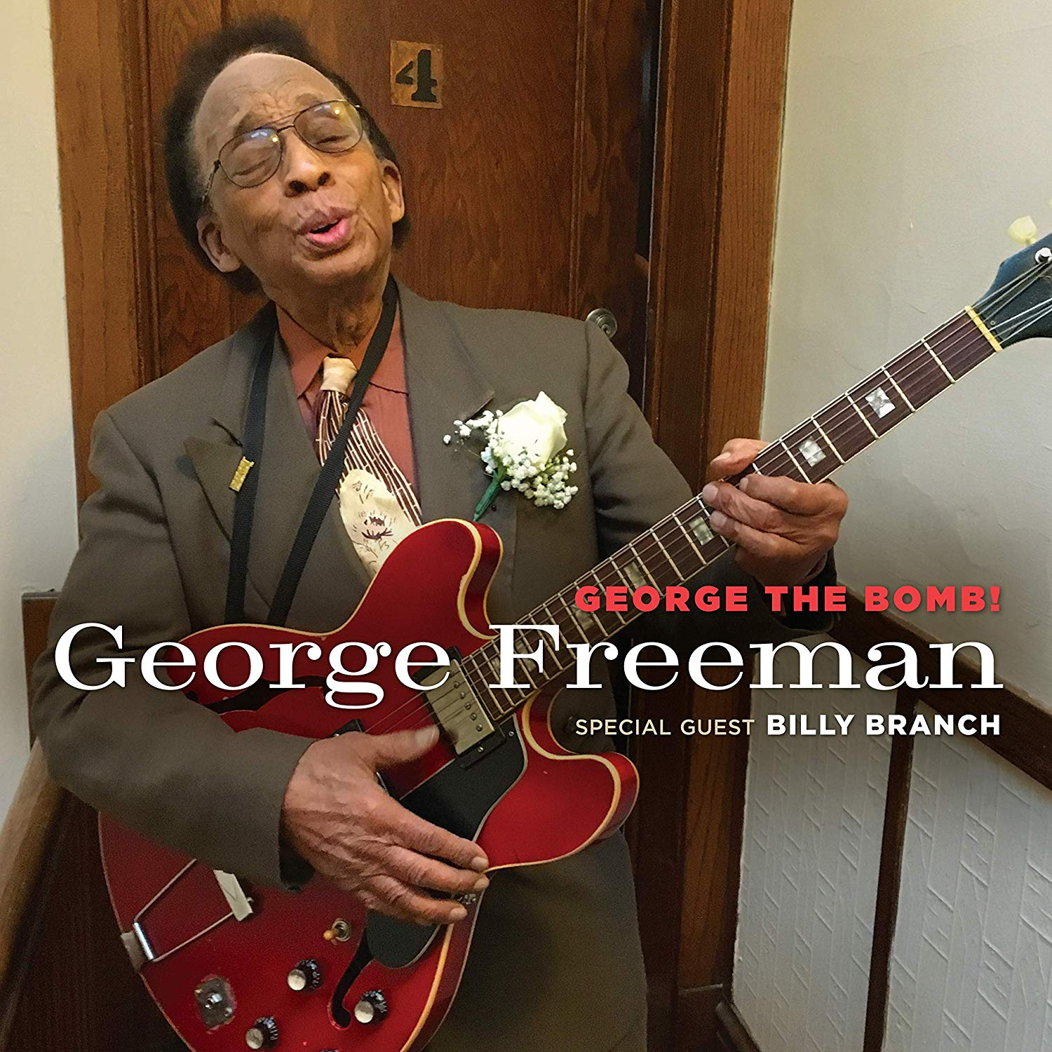 GEORGE FREEMAN - George the Bomb! cover