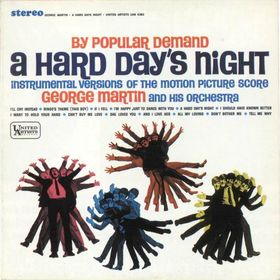 GEORGE MARTIN - By Popular Demand: A Hard Day's Night cover