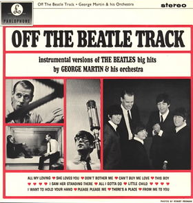 GEORGE MARTIN - Off the Beatle Track cover