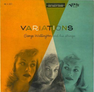 GEORGE WALLINGTON - Variations cover