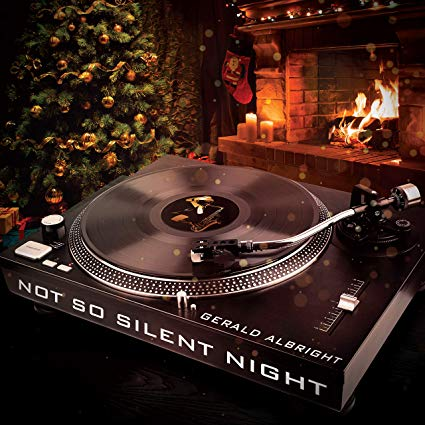 GERALD ALBRIGHT - Not So Silent Night cover