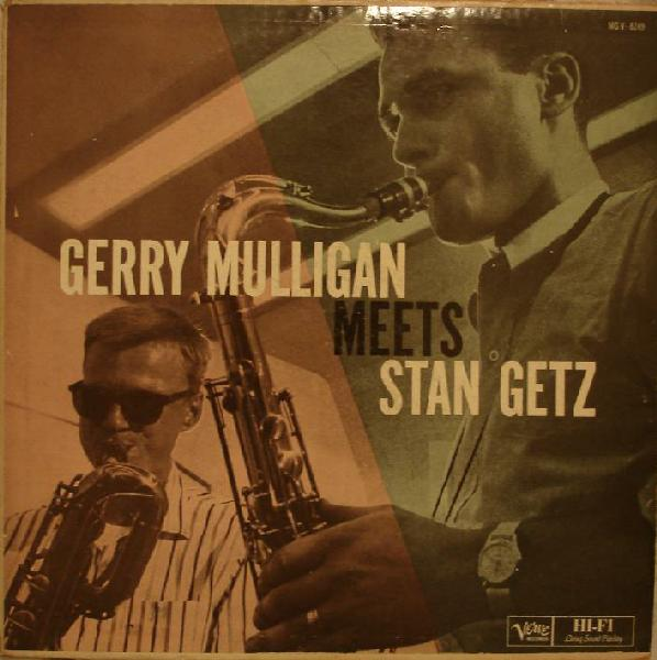 GERRY MULLIGAN - Gerry Mulligan Meets Stan Getz cover