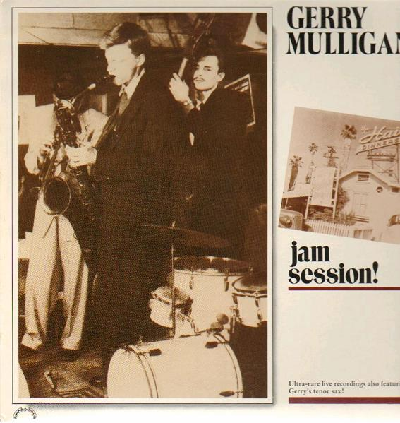 GERRY MULLIGAN - Jam Session! cover
