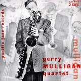 GERRY MULLIGAN - The Original Quartet With Chet Baker cover