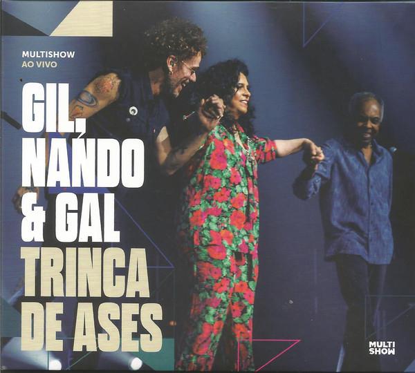 GILBERTO GIL - Gil, Nando & Gal : Trinca De Ases cover