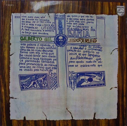 GILBERTO GIL - Gilberto Gil (aka Ja & Gil) cover