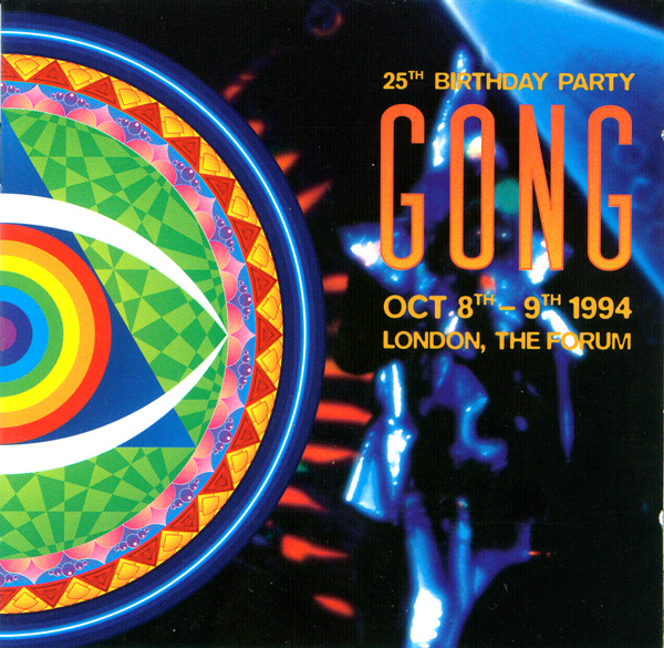 GONG - 25th Birthday Party cover