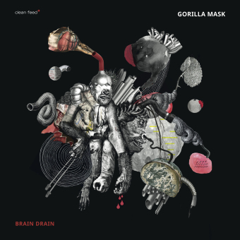 GORILLA MASK - Brain Drain cover