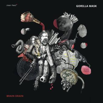 GORILLA MASK - Brain Drain cover