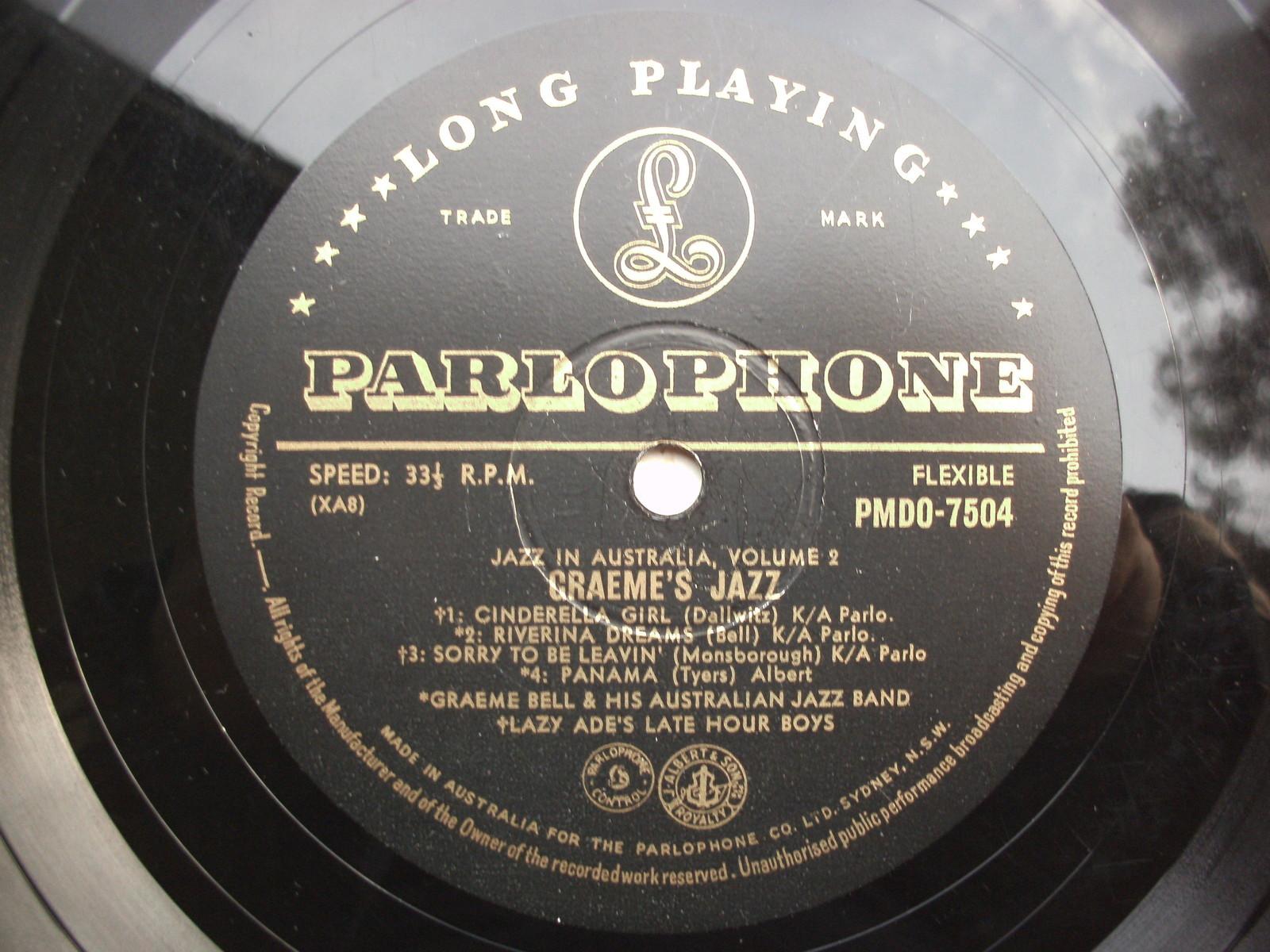 GRAEME BELL - Jazz In Australia cover
