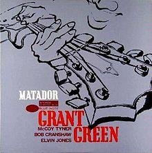 GRANT GREEN - Matador cover