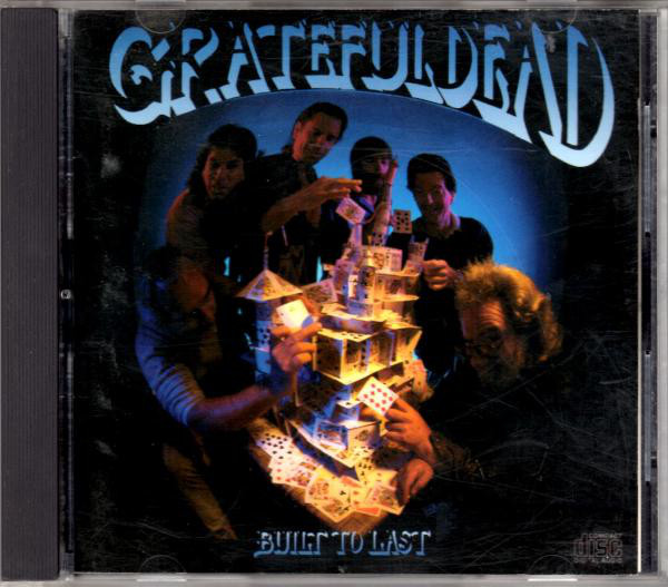 GRATEFUL DEAD - Built To Last cover