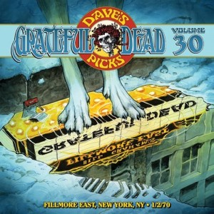 GRATEFUL DEAD - Dave's Picks Volume 30: Fillmore East, New York, New York 1/02/1970 cover